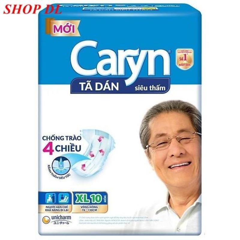 Tã dán Caryn size XL 10 miếng ( 60 - 90kg ) tốt nhất
