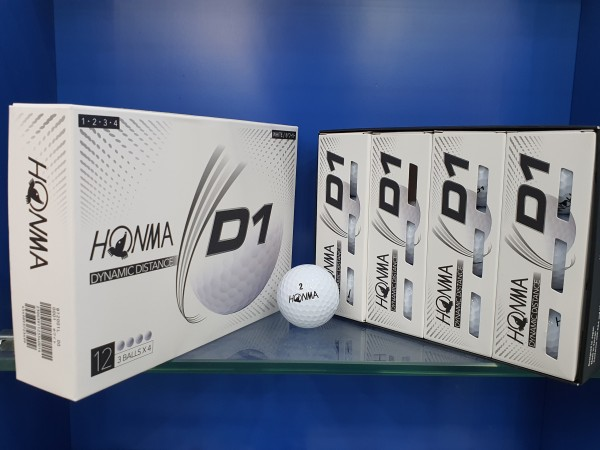 1 Hộp Bóng Golf Honma ( New) hộp gồm 12 quả