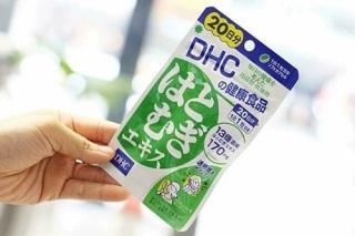 (Gói 30 viên 30 ngày) Viên uống trắng da DHC Adlay Extract giảm thâm nám, nuôi dưỡng làn da sáng mịn, hồng hào tỏa sáng thumbnail