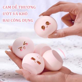 ANYAR-Mút đánh kem nền cao cấp Beauty Egg Sponge - Mút trang điểm, mút tán kem nền siêu mềm mịn, mút tán nền dễ vệ sinh[Màu sắc được vận chuyển ngẫu nhiên] thumbnail