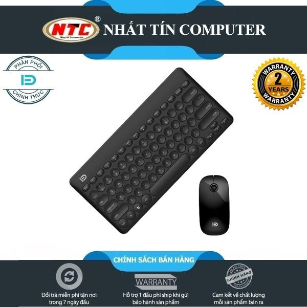 Bảng giá Combo Bàn phím và chuột không dây mini Ultra Slim 2.4G Wireless FD iK6620 pin dùng đến 12 tháng (4 màu) Phong Vũ