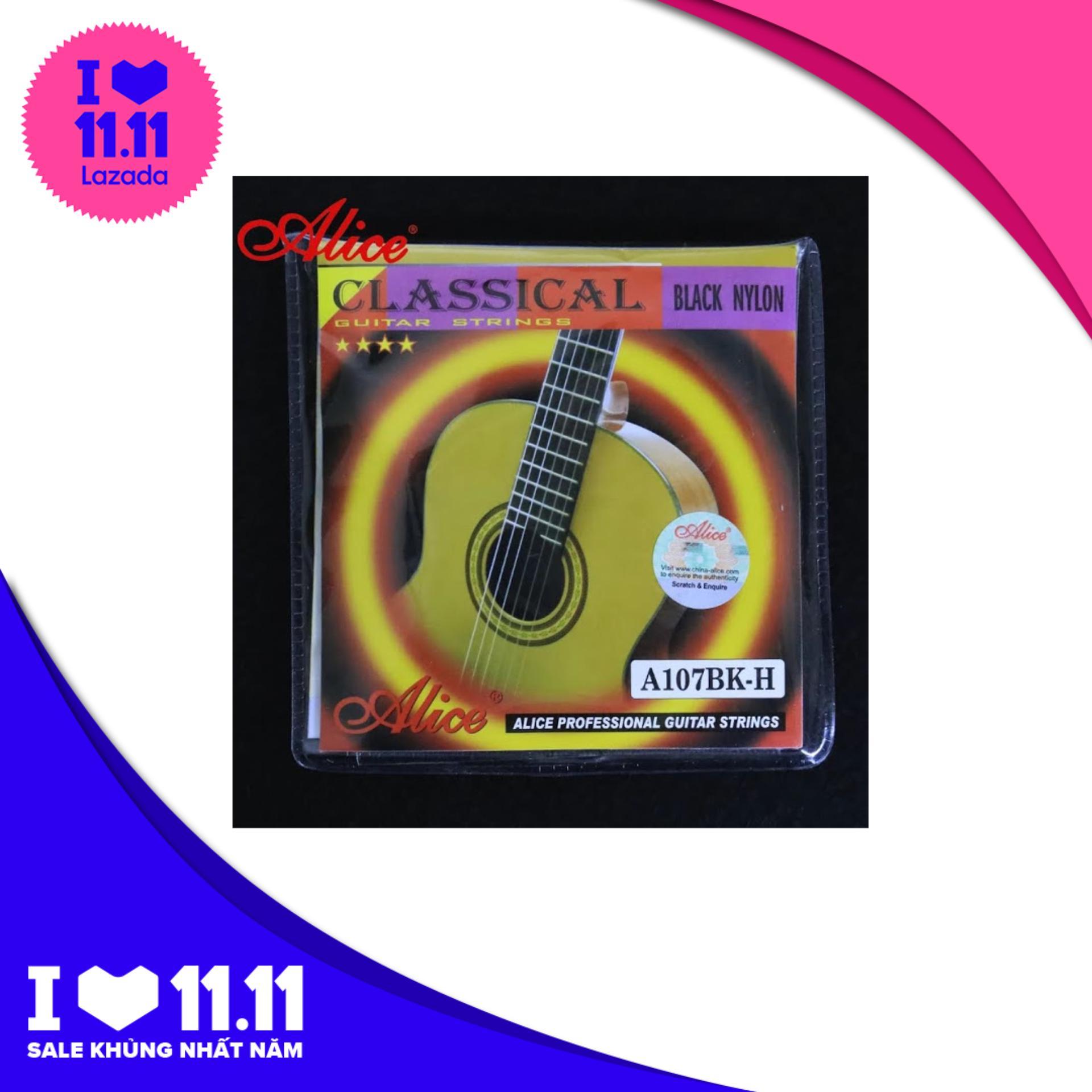 Mã Ưu Đãi Khi Sở Hữu Ngay Dây đàn Guitar Classic Alice A107BK H