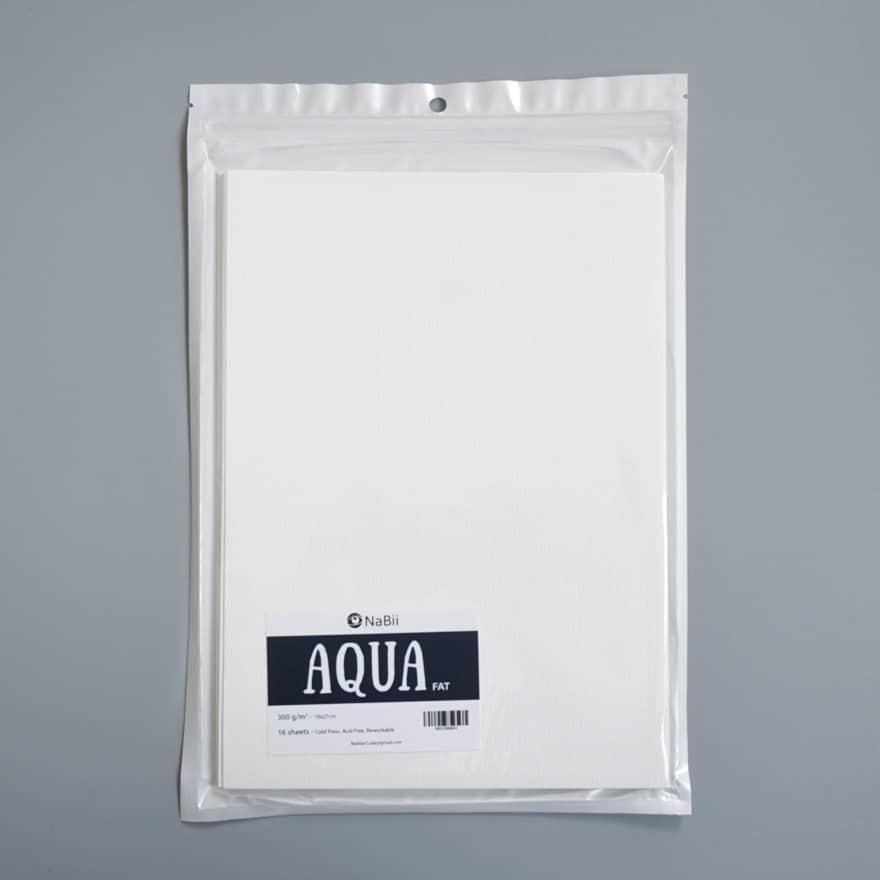 Mua Giấy vẽ Màu Nước A4 Nabii Aqua Fat 300gsm (16 tờ)