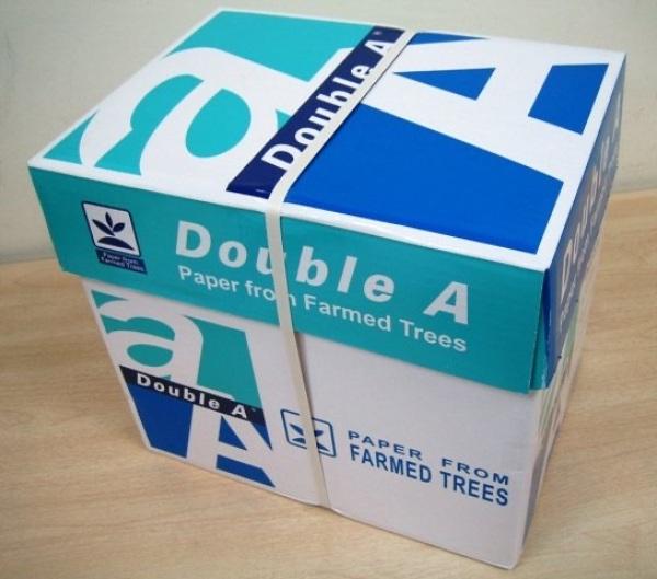 Mua thùng 5 ram giấy double a 70a4