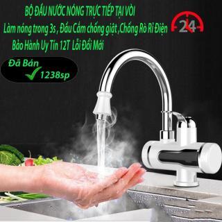 Voi tam nong lanh, Máy nước nóng tại vòi, Máy làm nóng nước trực tiếp - Chọn Mua May nuoc nong lanh panasonic - Giảm giá hấp dẫn, Bảo hành uy tín 1 đổi 1 thumbnail