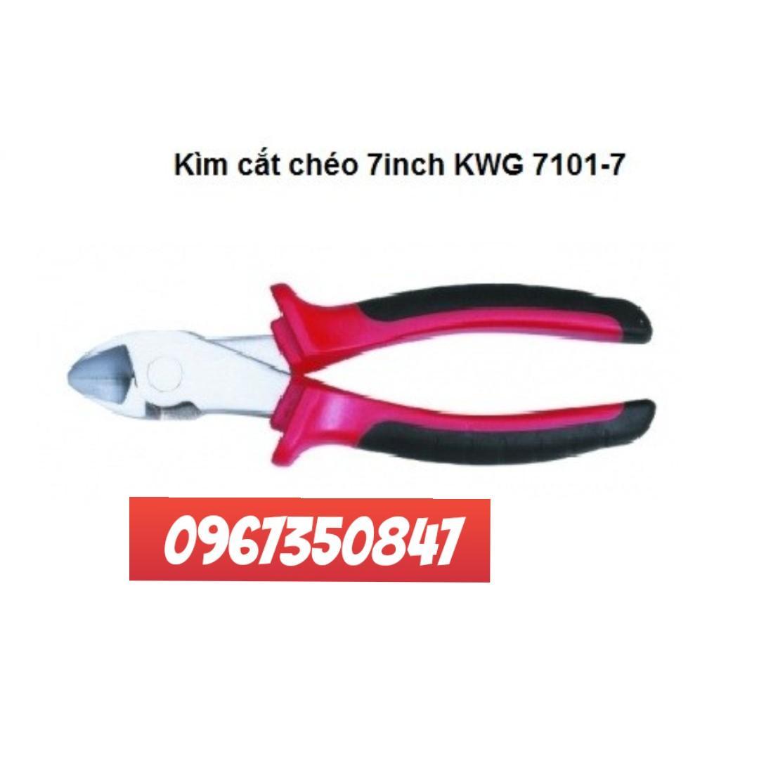 Kìm cắt cáp 7in KWG thương hiệu Đức sản xuất tại Đài Loan theo tiêu chuẩn chất lượng công nghệ Đức