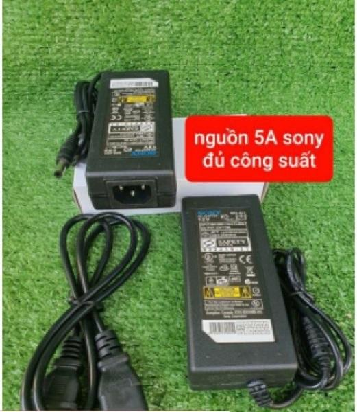 Bảng giá Nguồn Adapter 12v 5A (Sony) dùng cho máy bơm mini đơn