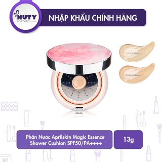Phấn Nước Aprilskin Magic Essence Shower Cushion SPF50 PA++++ (13g) thumbnail