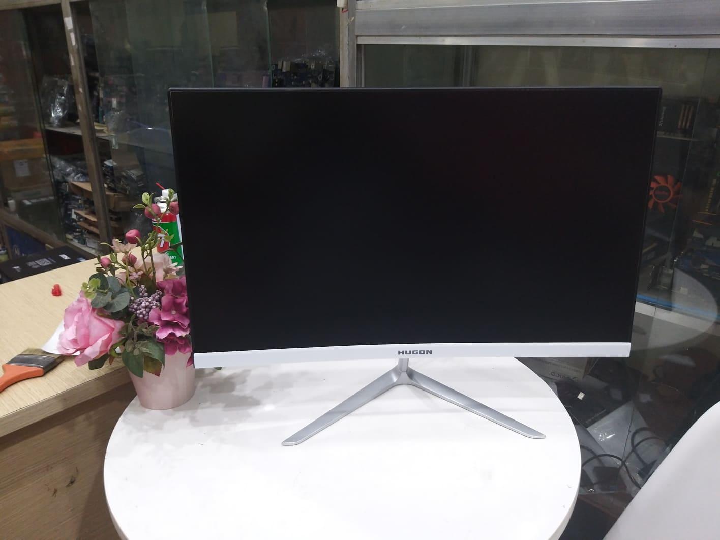 Giá Màn hình máy tính cong Full Viền 24inch 75Hz HUGON Q24 Mới 100% , siêu đẹp , siêu nét , kiểu ráng tinh tế