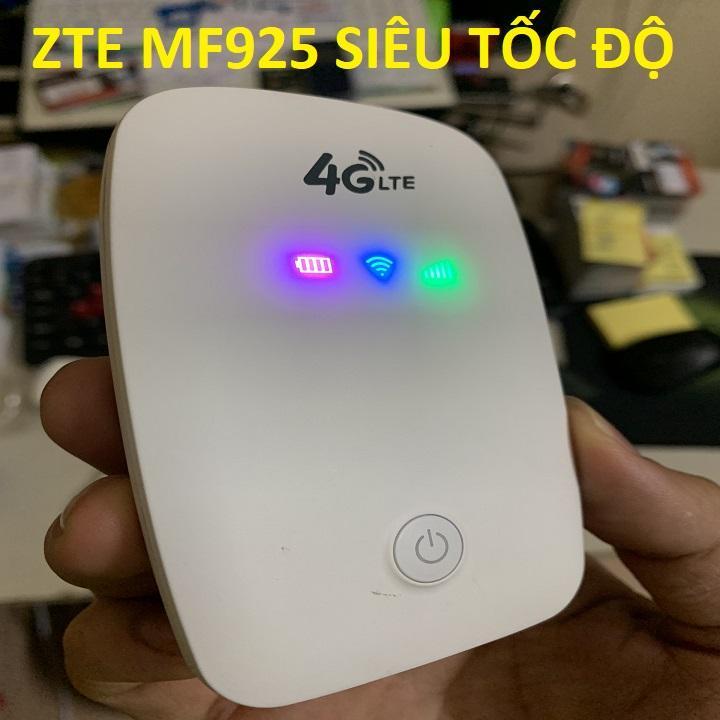 Bộ Phát Sóng Wifi 4G Từ Sim- Cục Phát Wifi Mini Cầm Tay -Phát Wifi 4G LTE Tốc độ Cực Cao 150 Mbps- Bộ Phát Wifi MF925 Hàng Cao Cấp Nhập Khẩu Bất Ngờ Giảm Giá