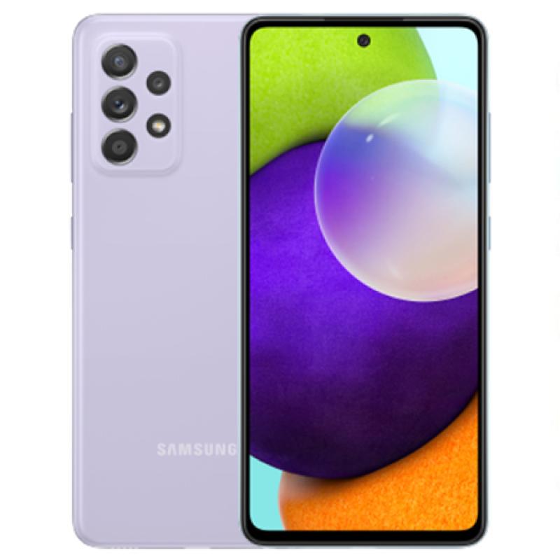 Điện thoại Samsung Galaxy A52 (8GB/128GB) nguyên seal, chính hãng, MỚI 100%, Màn hình rộng: 6.5 inches Super AMOLED, Camera sau: 64 MP+8 MP+5MP+2 MP, Camera trước: 32 MP, CPU: Snapdragon 720G, Pin: 4500mAh