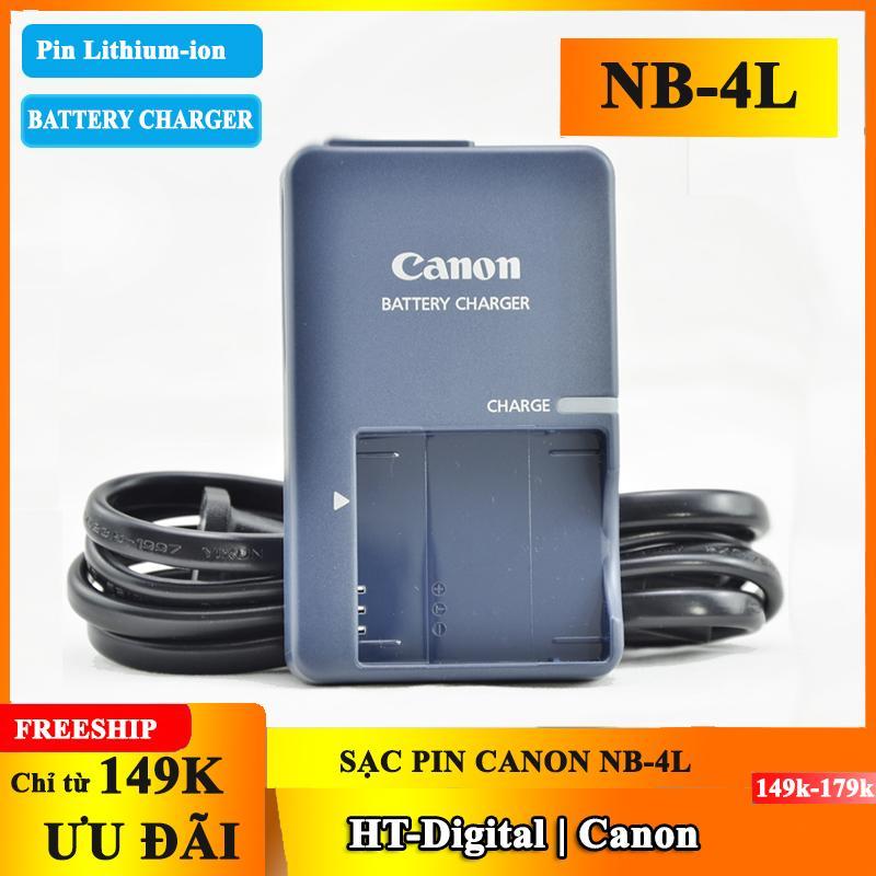 Offer Ưu Đãi Sạc Pin Máy ảnh Canon NB-4L CB-2LVE
