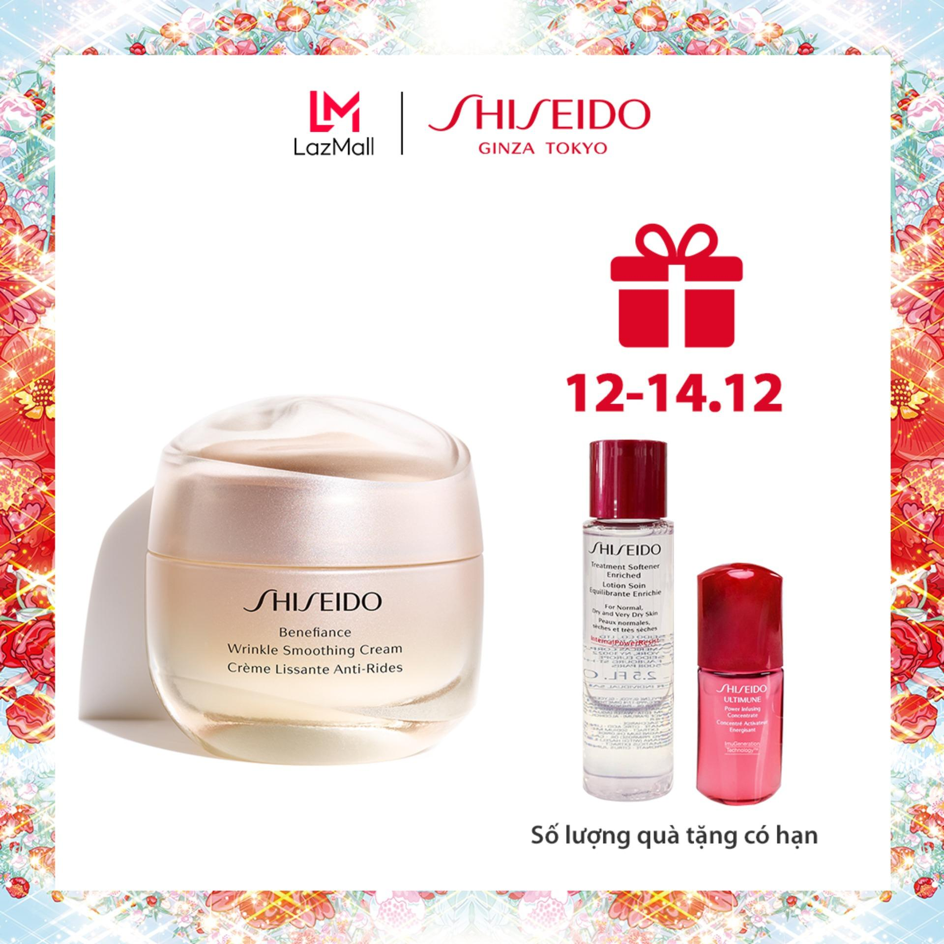 Bộ Kem Chống Lão Hóa Shiseido Benefiance Wrinkle Smoothing Cream 50ml Giá Cực Ngầu