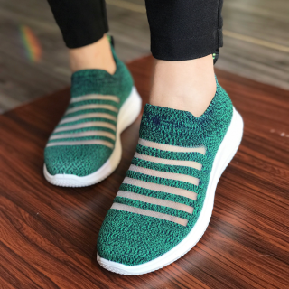Giày slip on hiệu Duwa phong cách Hàn Quốc DH01-2