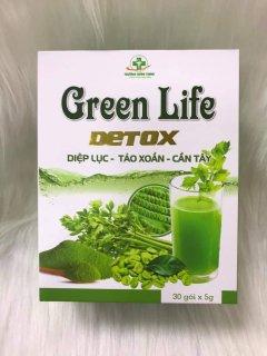 Green Life Detox, Diệp Lục, Tảo Xoắn, Cần Tây- Hỗ Trợ Làm Đẹp Da, Trắng Sáng Da, Giảm Cân thumbnail