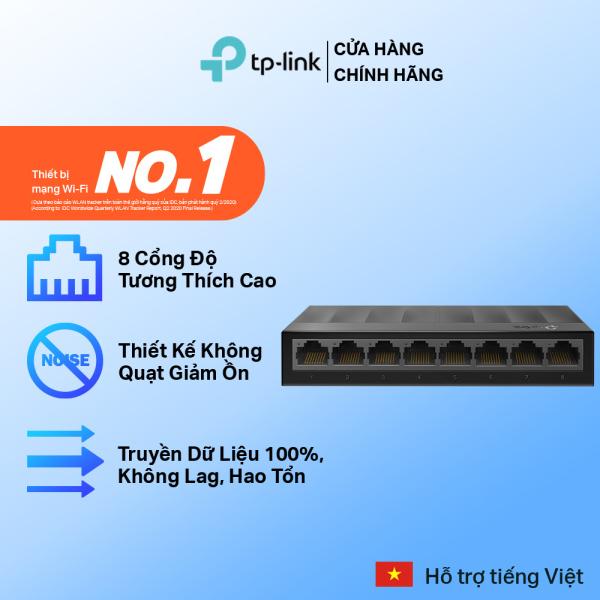 Bảng giá Bộ Chia Mạng Switch Để Bàn TP-Link LS1008G 8 Cổng 10/100/1000Mbps Phong Vũ