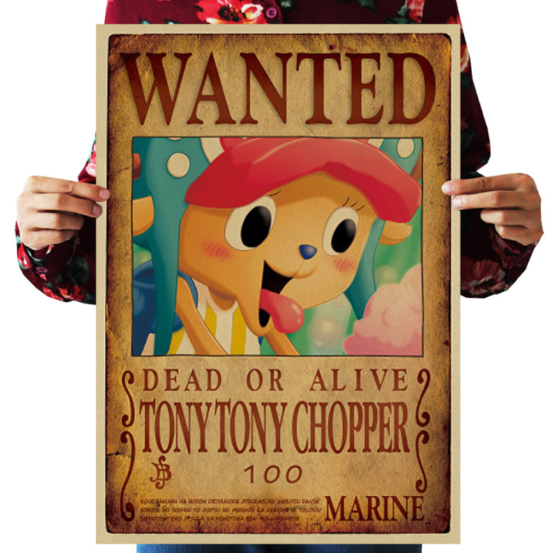 Mua Poster truy nã Tony Tony Chopper (Timeskip) - One Piece