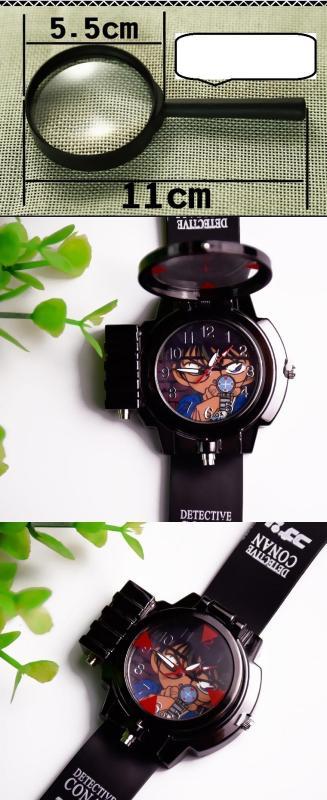 Nơi bán Đồng hồ bé trai conan mới + kính lúp