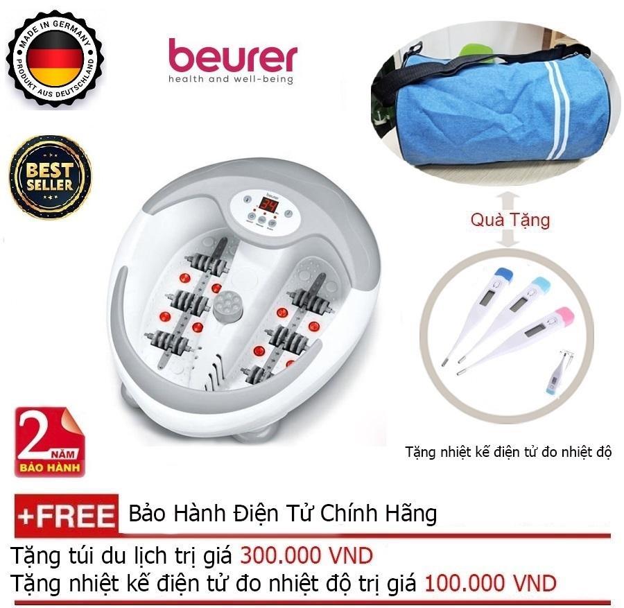 Deal Giảm Giá BỒN NGÂM CHÂN MASSAGE BEURER FB50 + Quà Tặng Balo Du Lịch