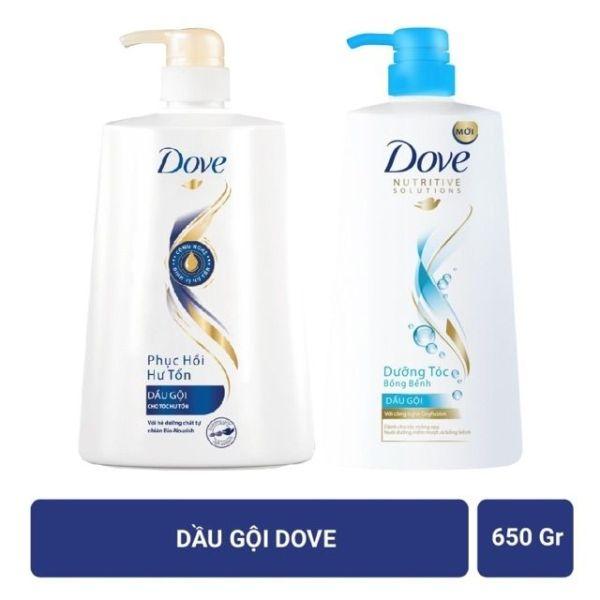 DầU GộI Dove DưỡNg TóC BồNg BềNh 650G giá rẻ