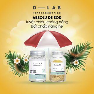 Viên Uống Chống Nắng Absolu De Sod D-LAB Pháp thumbnail