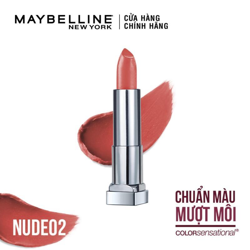 Son lì siêu nhẹ môi Maybelline New York Color Sensational Powder Matte 3.9g