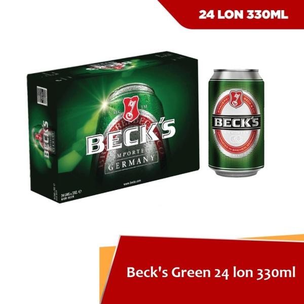 BIA BECK THÙNG 330ML 24 LON