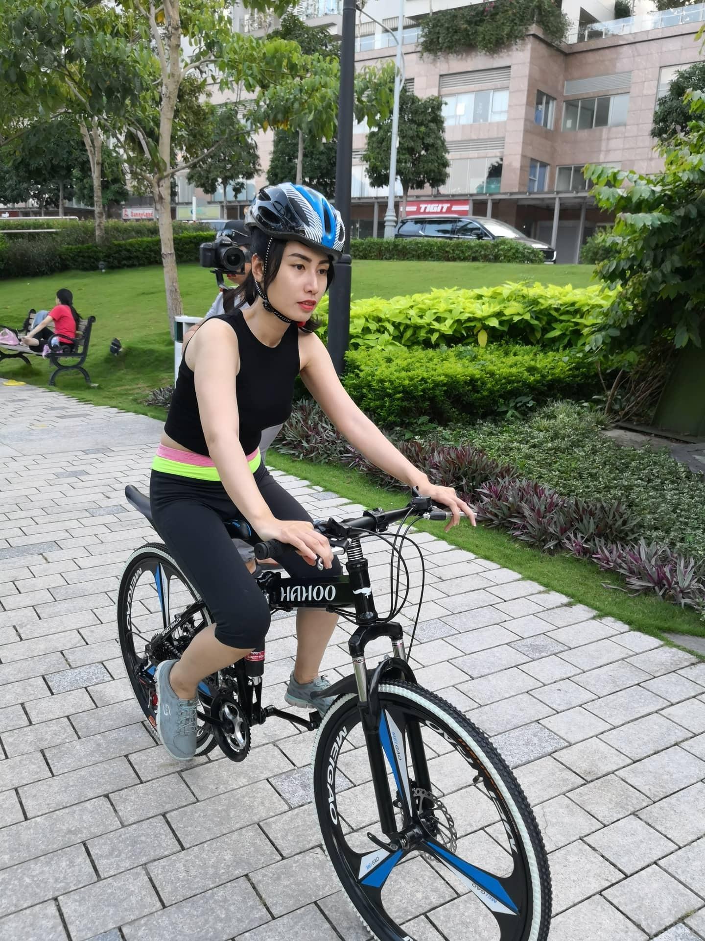 Mua Xe đạp gấp thể thao địa hình HaHoo - Bánh mâm đúc