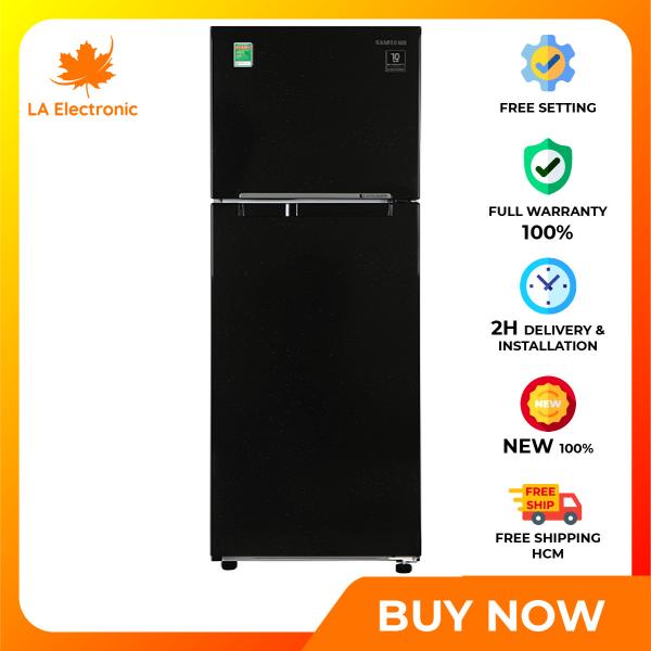 Trả Góp 0% - Tủ Lạnh - Samsung Inverter 236 liter refrigerator RT22M4032BU/SV Full VAT - Miễn phí vận chuyển HCM