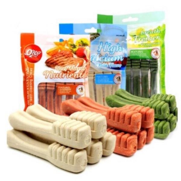 Xương gặm bàn chải sạch răng hôi miệng orgo cho chó - xương ống lớn - gói, sản phẩm tốt, chất lượng cao, cam kết như hình, độ bền cao, xin vui lòng inbox shop để được tư vấn thêm