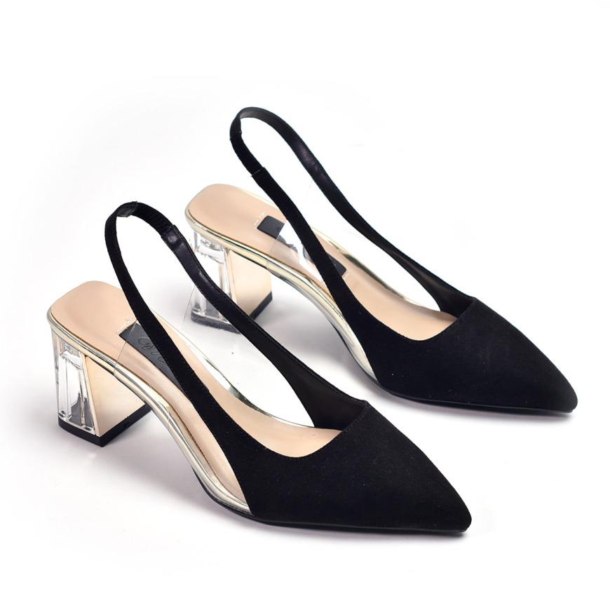 Giày sandal gót thấp Merly 1249 giá rẻ