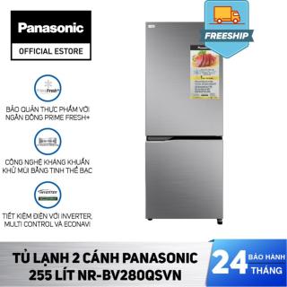 Tủ Lạnh 2 Cánh Panasonic 255 Lít NR-BV280QSVN - Bảo Hành 2 Năm - Hàng Chính Hãng