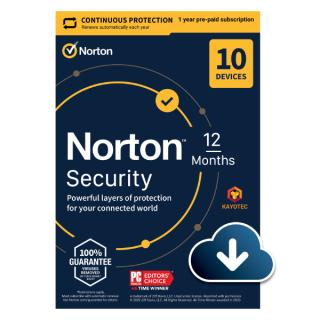 Phần mềm Norton Security 10 thiết bị 1 năm thumbnail