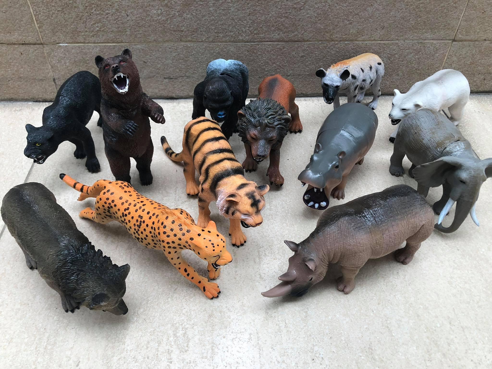 Bộ sưu tập thú rừng size to Nhật Bản