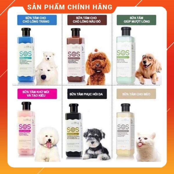Sữa Tắm SOS Dành Cho Chó Và Mèo - Trắng (Dành Cho Mèo)