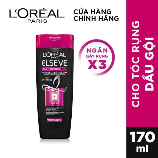 Dầu gội ngăn gãy rụng tóc LOreal Paris Elseve Fall Resist 3X Shampoo 170m cao cấp
