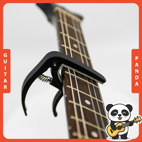 [HCM]Capo Guitar Phiên Bản 2021 Nhỏ Gọn Giá Rẻ Guitar Panda