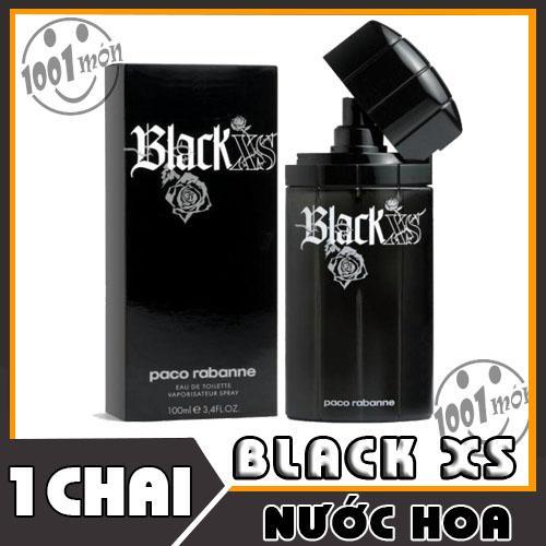 Nước hoa Paco Rabanne Black XS Paco rabanne 100ml cao cấp