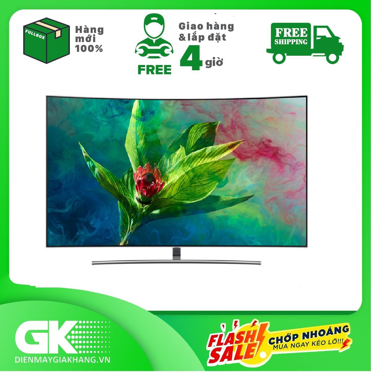 Smart TV màn hình cong Samsung 4K QLED 65 inch 65Q8CNA