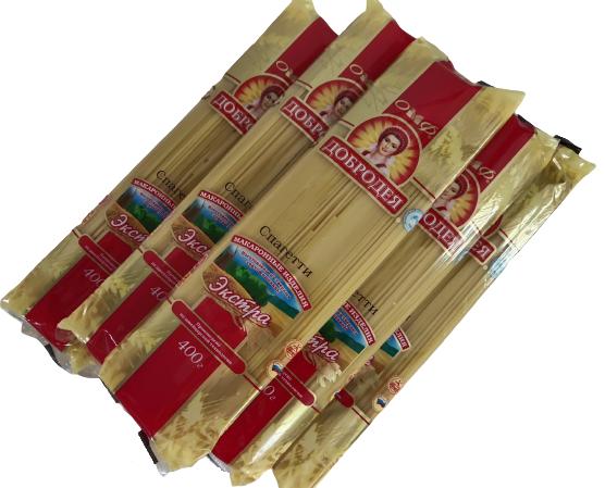 Mì Spaghetti nhãn hiệu Dobrodeya 400g