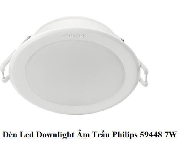 Bảng giá Đèn Led Downlight Âm Trần Philips 59448 MESON 105 7W - 59449 MESON 105 9W - 59464 MESON 125 13W - Công Nghệ Eye Comfor Bảo Vệ Mắt Độc Quyền của Philips
