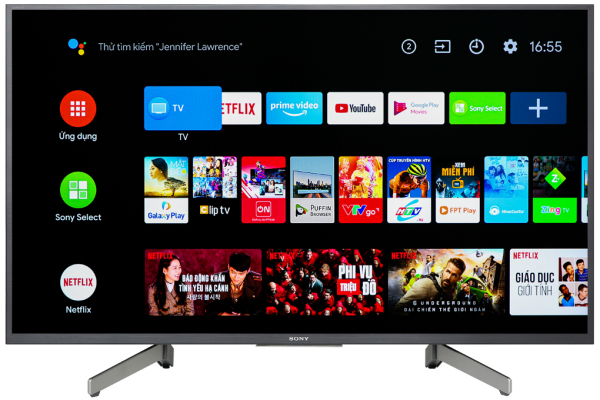 Bảng giá Android Tivi Sony 4K 49 inch KD-49X8000G