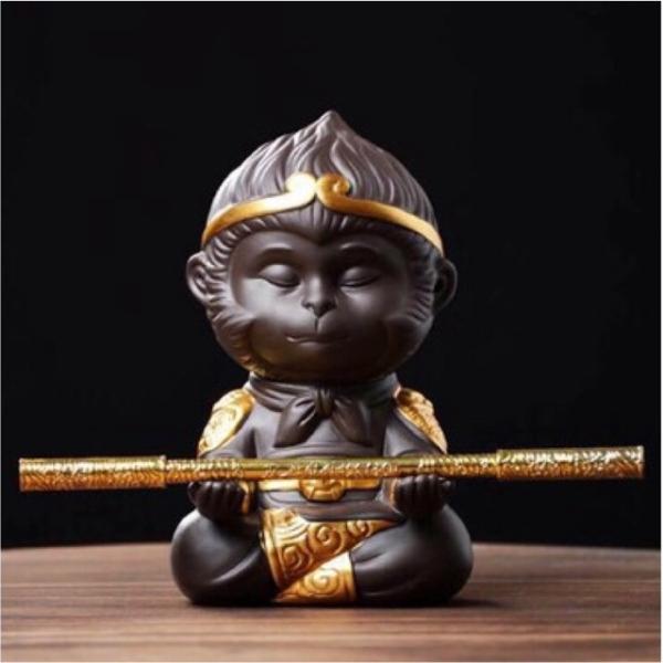 Tượng Tôn Ngộ Không (Có Gậy) - Hàng Công Ty
