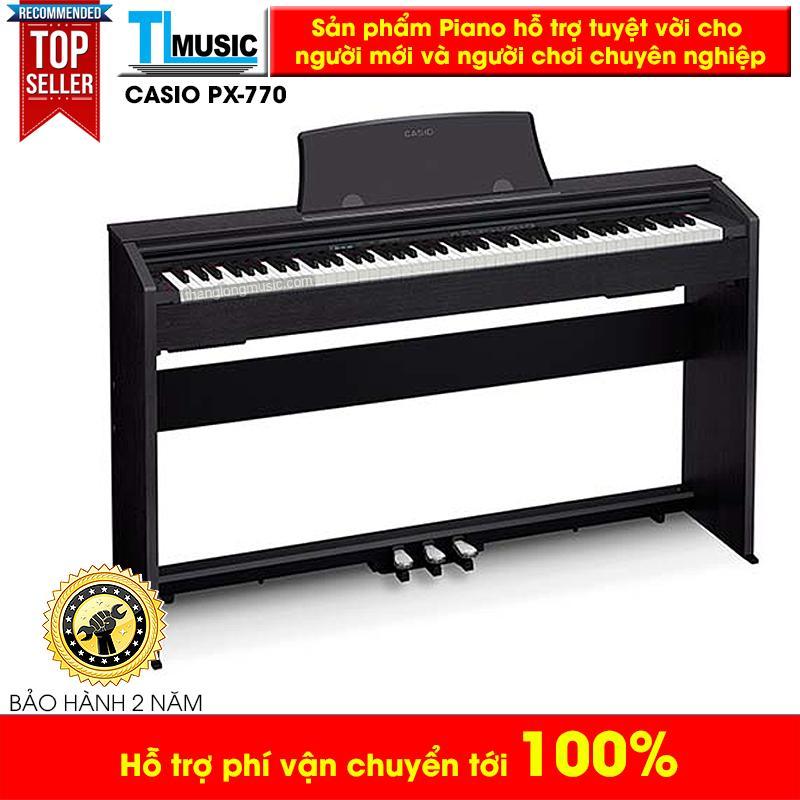 Piano Điện Tử Casio PX770 Mới (Kèm Khăn Phủ) - Casio PX-770 New Model Phổ Biến Tại Các Trung Tâm Âm Nhạc