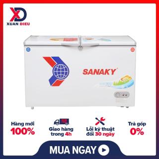 Tủ đông Sanaky VH-2299W1 220 lít -Dàn lạnh ống đồng (Làm lạnh cực nhanh) Hai ngăn đông mát (Tiện ích) Gas R600A (Thân thiện môi trường)-GIAO HÀNG MIỄN PHÍ HCM thumbnail