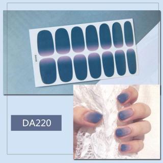Sticker dán trang trí móng tay họa tiết dễ thương mã DA201 - DA220 thumbnail