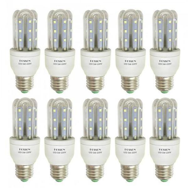 Bộ 10 bóng đèn LED chữ U 5W