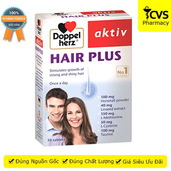 Viên uống Hair Plus (Doppel Herz Aktiv) - Hỗ trợ cho mái tóc khỏe, giảm rụng tóc - cvspharmacy giá rẻ