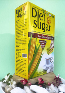 Đường Bắp DIET SUGAR cho người tiểu đường, ăn kiêng - Hộp 50 gói thumbnail