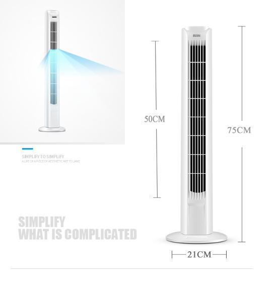Quạt cây điều hòa EDM 33952 -Quạt tháp - Quạt không cánh- Máy làm mát không khí, Điều hòa cây, Quạt điều hòa hơi nước, Quạt đứng cao cấp- Quạt điều hoà làm mát không khí - An toàn , tiện dụng- Mẫu mới 2019